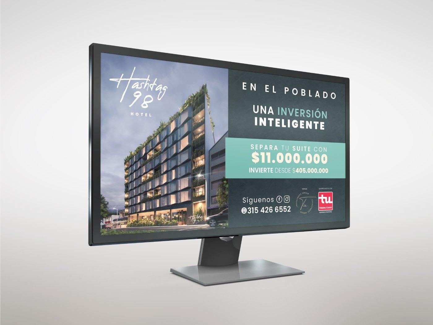 Hashtag-98 Publicidad Inmobiliaria