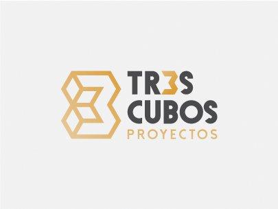 TRES CUBOS LOGO Y COLOR